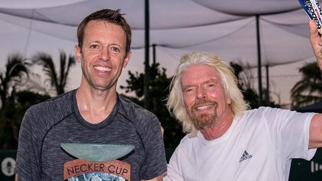 Miliardär endlich Sieger seines Einladungsturniers