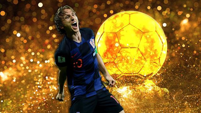 Ballon d'Or: Modric vinder prisen som verdens bedste spiller