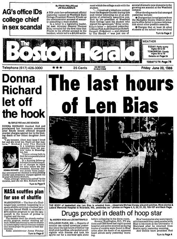 La Une du Boston Herald