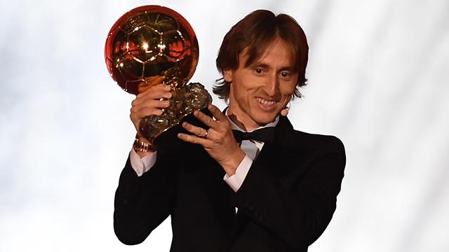 Modric wins Ballon d'Or to end Messi and Ronaldo's decade-long dominance