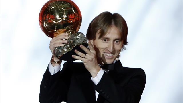 El sorprendente voto que recibió Modric en el Balón de Oro