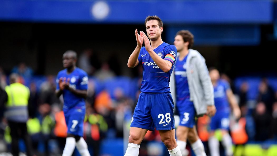 Image result for azpilicueta with chelsea team