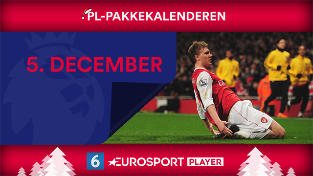 5. december: Nicklas Bendtner-basser i Premier League