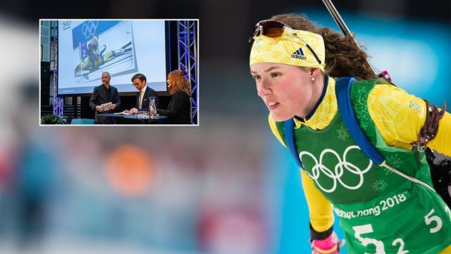 Hanna Öberg tilldelas Bragdguldet - återupplev hennes OS här