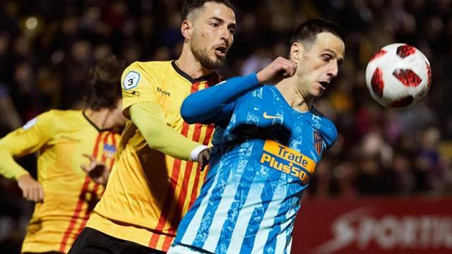 Atlético de Madrid vs Sant Andreu en vivo: Copa del Rey, dieciseisavos
