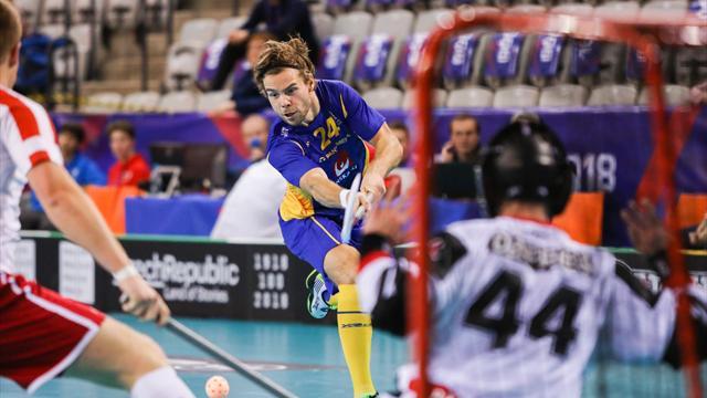 Sverige lekte med oinspirerat Danmark - vann med 25-0