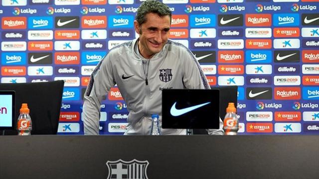 """Valverde: """"No descarto a ningún rival por la Liga"""""""