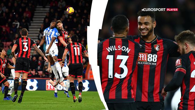 Highlights: Bournemouth sled sig til sejr over dominerende Huddersfield