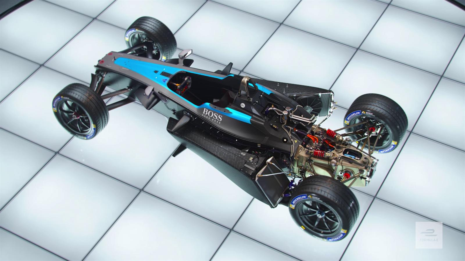 Video formule e de la monoplace gen1 la gen2 la transformation en 3d video eurosport - Formule vitesse de coupe ...