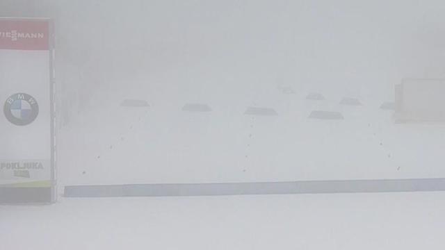 Zu dichter Nebel: Biathlon-Einzel der Männer auf Donnerstag verschoben