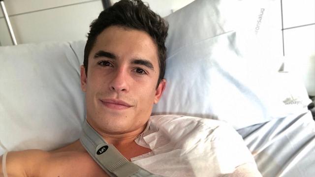 """Straffer Zeitplan für Márquez nach Schulter-OP: """"Es wird eng"""""""