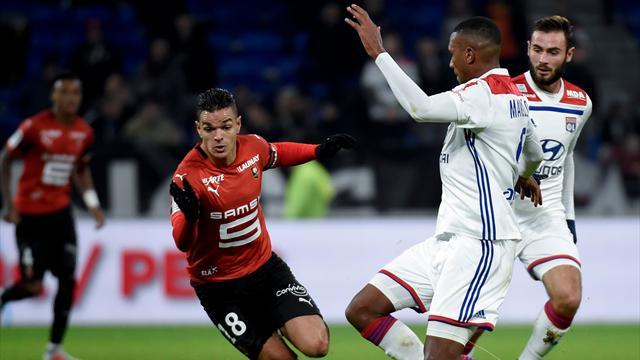 Rennes et Ben Arfa se jouent de Lyon