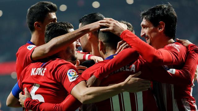 Copa del Rey, Atlético-Sant Andreu: De la oscuridad a la fiesta (4-0, global 5-0)
