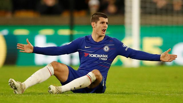'What a mess': Chelsea fans slate Morata after Wolves defeat