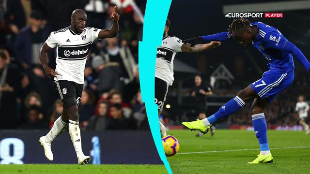 Highlights: Schmeichel og Leicester kunne ikke nedbryde Fulham-defensiven, og måtte nøjes med et poi