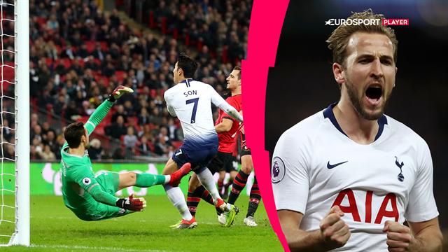 Highlights: Tottenham dissekerede Southampton på hjemmebanen