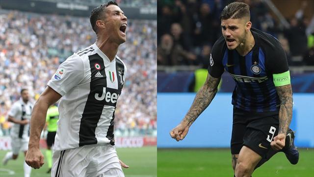 Juventus-Inter, la sfida Cristiano Ronaldo-Icardi: i numeri dei due goleador più attesi