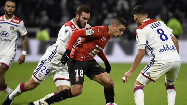 "Golazo et chambrage face au kop lyonnais : Ben Arfa tient son ""grand match"" rennais"