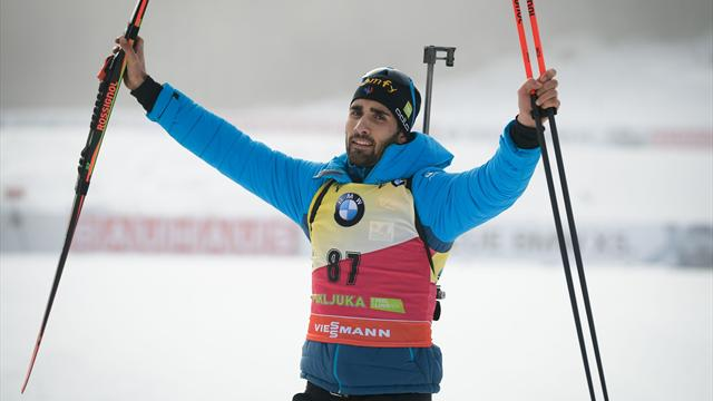 Fourcade wins again in Slovenia