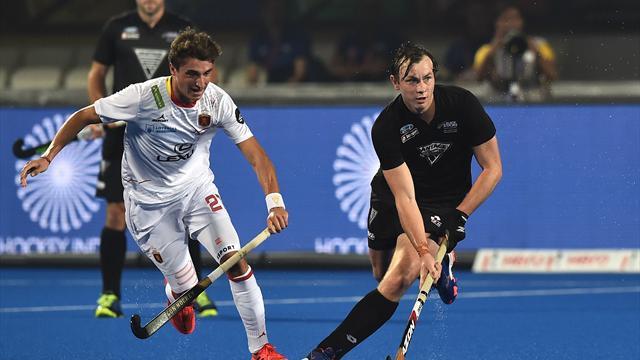 Mundial hockey hierba, España-Nueva Zelanda: En manos de Argentina