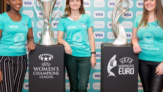 """""""Meilenstein"""": UEFA gewinnt ersten Frauenfußball-Sponsor"""