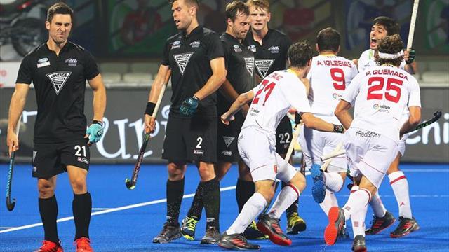 2-2. España desperdicia una ventaja de dos goles y empata con Nueva Zelanda