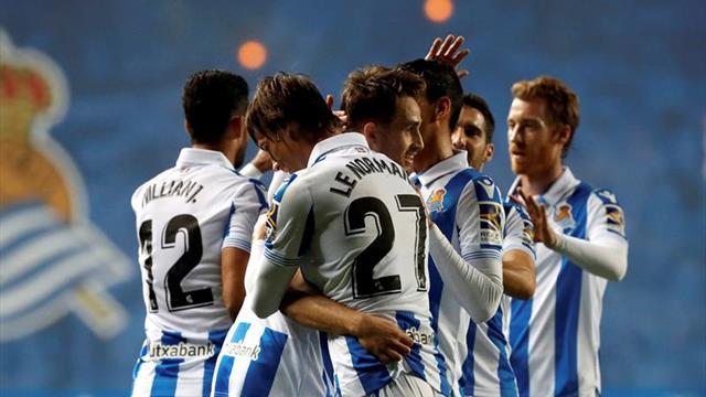 La Real recibirá al Valladolid en su mejor momento