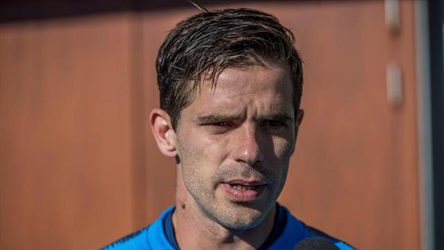 """Fernando Gago: """"Lo ideal era jugarlo en Sudamérica, en la cancha de River Plate"""""""