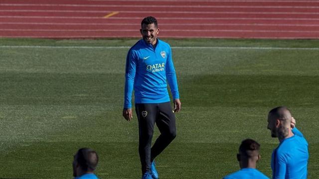 """Tévez: """"Estamos agradecidos a España pero es triste no jugar en nuestro país"""""""