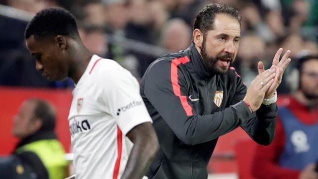 El Sevilla, tras el escollo de Copa, centrado en la exigente cita de Mestalla
