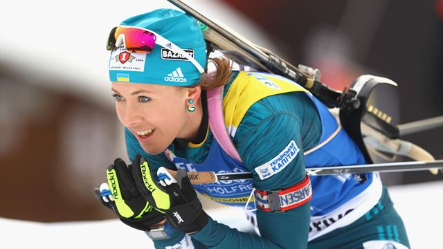 Dzhima scoops Biathlon gold in Pokljuka