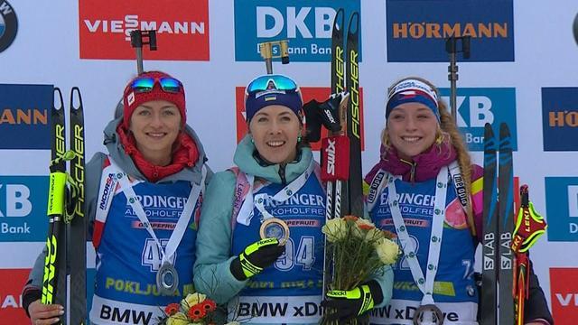 Yuliia Dzhima verrast en wint voor het eerst wereldbekerwedstrijd