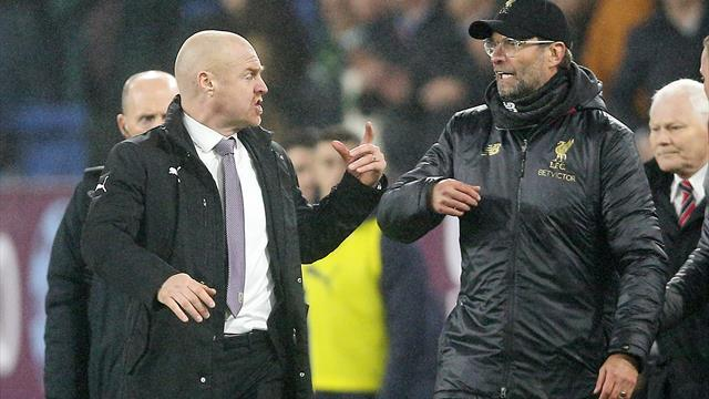 Jurgen Klopp can't reinvent the rules of tackling, insists Burnley boss Dyche