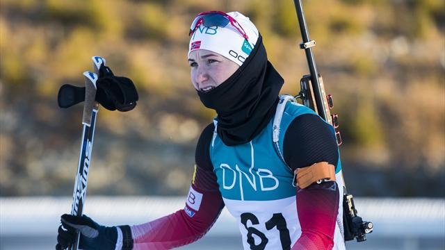 Ульсбю-Ройзланд выиграла спринт в Нове-Место Дальмайер в дебютной гонке финишировала второй