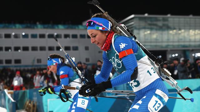 Dzhyma sorprende tutte a Pokljuka in Coppa del Mondo; Vittozzi e Wierer sfiorano il podio