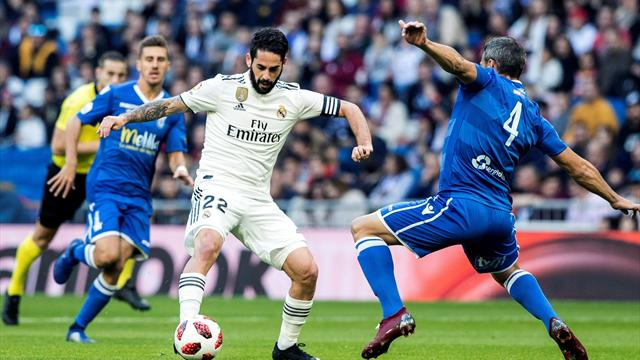 ⚽👑En directo: El Madrid está goleando al Melilla con festival de Asensio y la cantera (3-0)