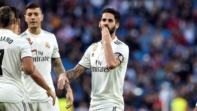 ⚽😲 El Real Madrid golea al Melilla (6-1) con recital y dos goles de Isco