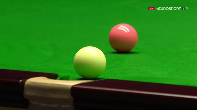 'How unlucky is this?' - O'Donnell sinks white after wonderful pot