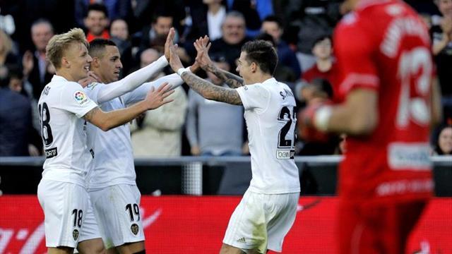 Rodrigo vuelve al grupo y podría estar disponible ante el Sevilla