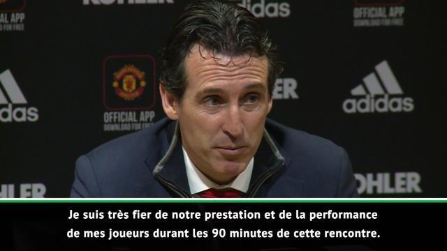 """15e j. - Emery : """"Fier de notre prestation et de mes joueurs"""""""