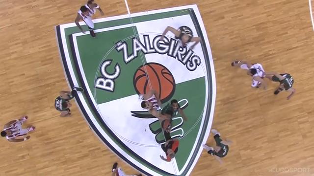 Highlights: Zalgiris Kaunas-Olympiacos Pireo 83-75