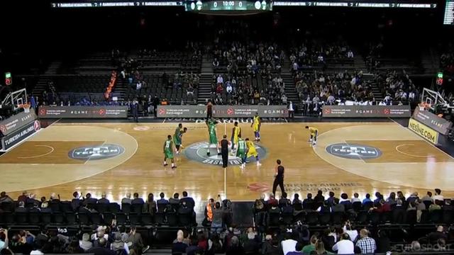 Highlights: Darussafaka Tekfen-Maccabi Fox Tel Aviv 71-73