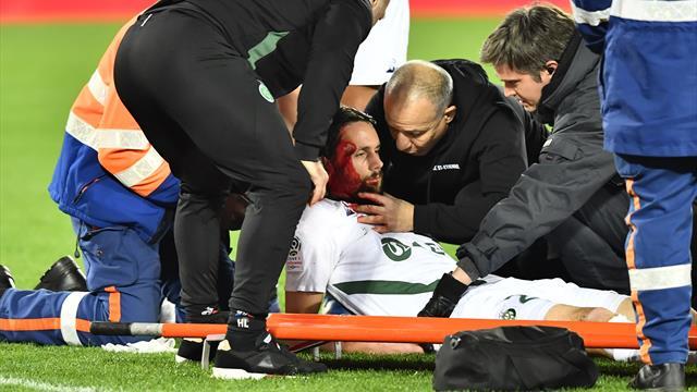 Keine schwere Kopfverletzung: Subotic aus dem Krankenhaus entlassen