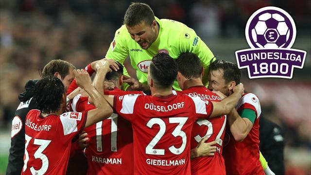 Bundesliga 1800 | Angeberwissen zum Freitagsspiel: Deshalb feiert Düsseldorf auf jeden Fall