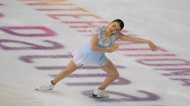 Кихира выиграла короткую программу с мировым рекордом, Загитова – вторая