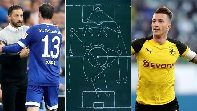 Taktik-Check: So haben sich Schalke und der BVB seit dem 4:4 verändert