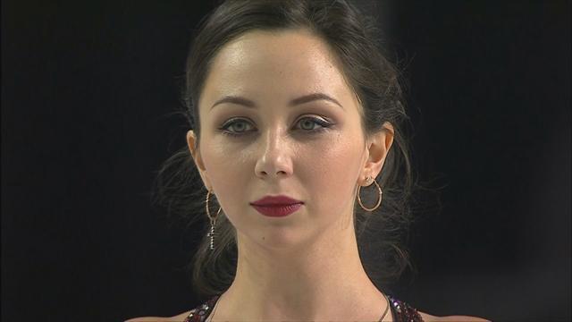 Rang drei beim Kurzprogramm für Tuktamysheva
