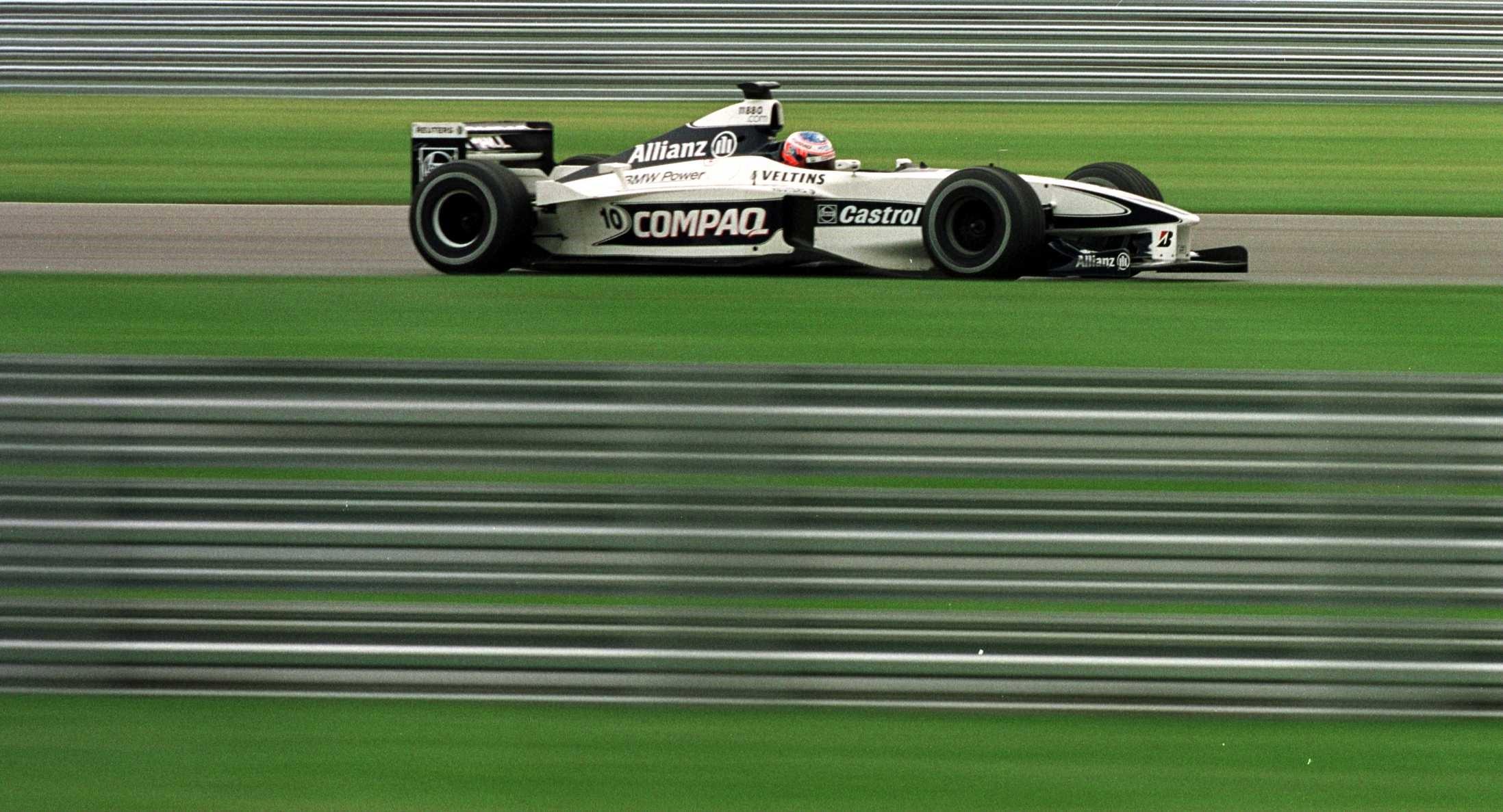 Jenson Button (Williams) au Grand Prix des Etats-Unis d'Amérique 2000