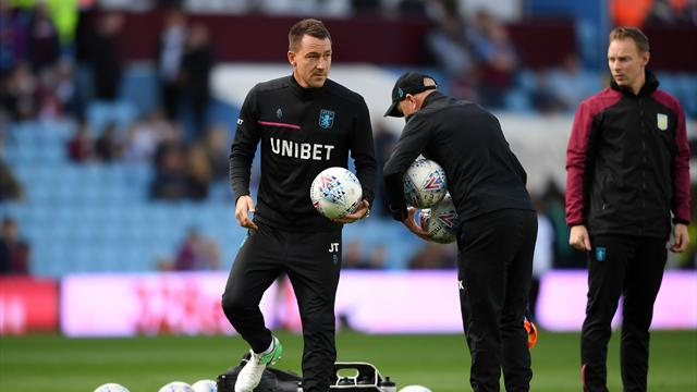 John Terry shows off serious skills in Aston Villa training
