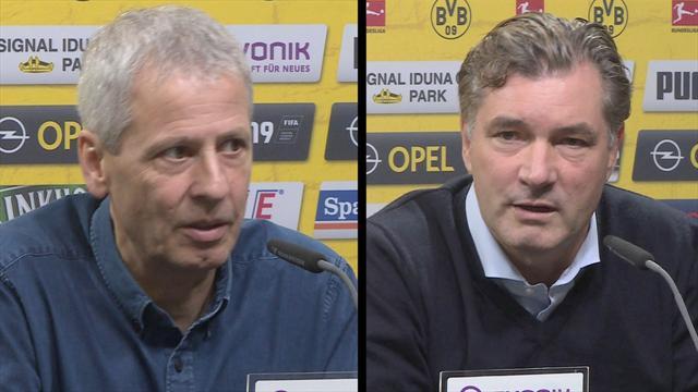 """Favre warnt vor Schalke: """"Wird ein schwieriges Spiel"""""""
